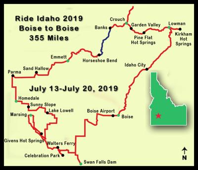 Ride Idaho to camp in Emmett