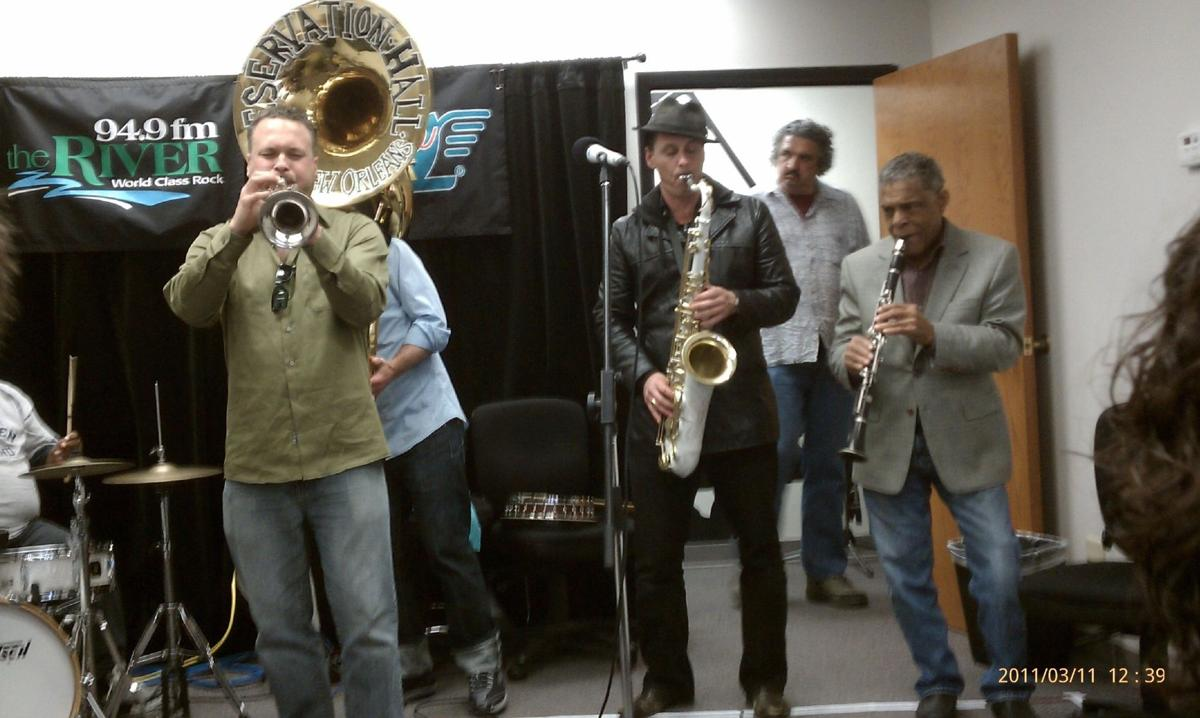 New Orleans Preservation Hall Jazz Band in the River's Listener Lounge