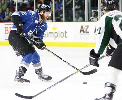 Idaho Steelheads vs Utah Grizzlies hockey