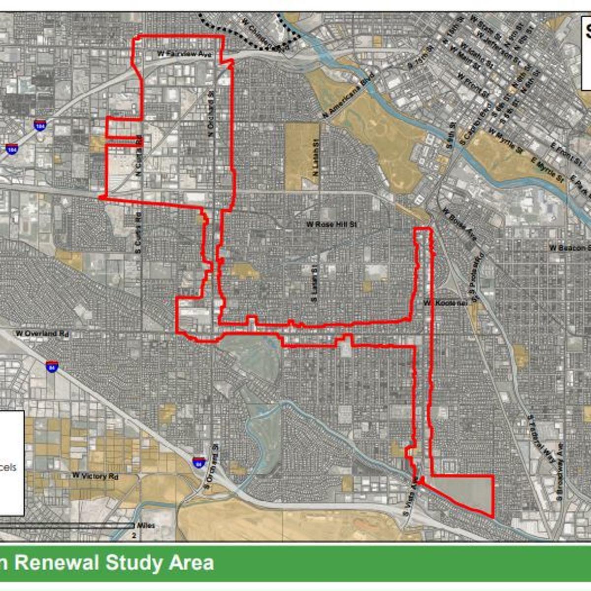 Urban renewal district on Boise Bench takes a step forward