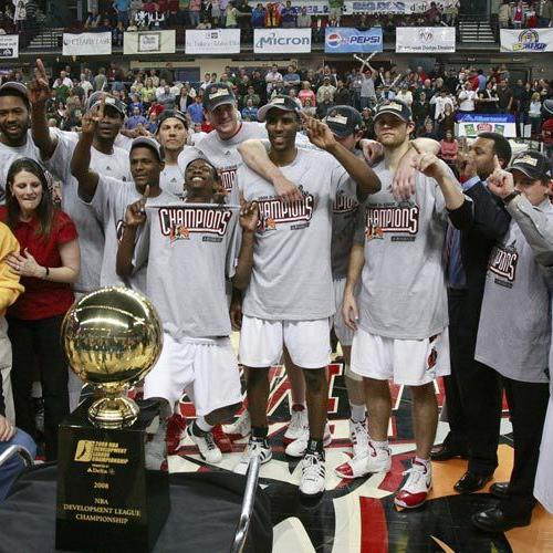 CHAMPIONSHIP BUILT: Homegrown talent lifts Stampede to D-League title in 2008