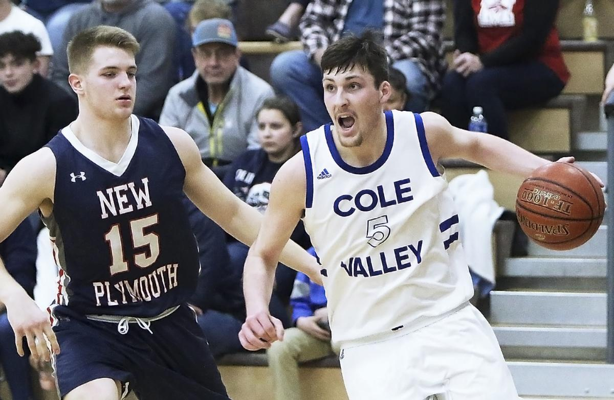Cole Valley vs New Plymouth boys basketball