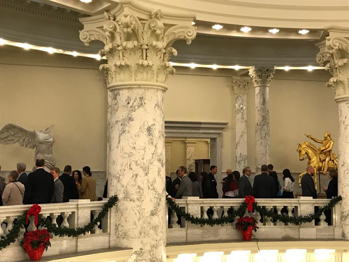 New legislators reception