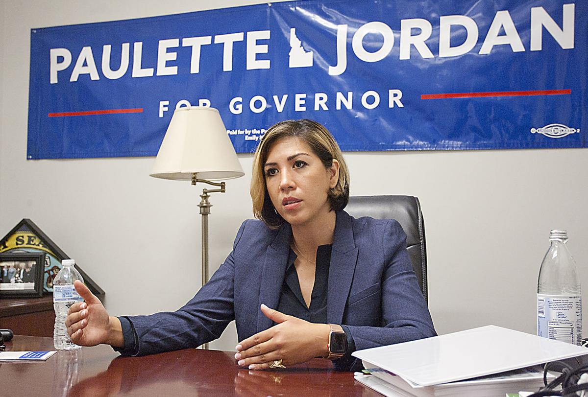 Paulette Jordan on the Campaign Trail
