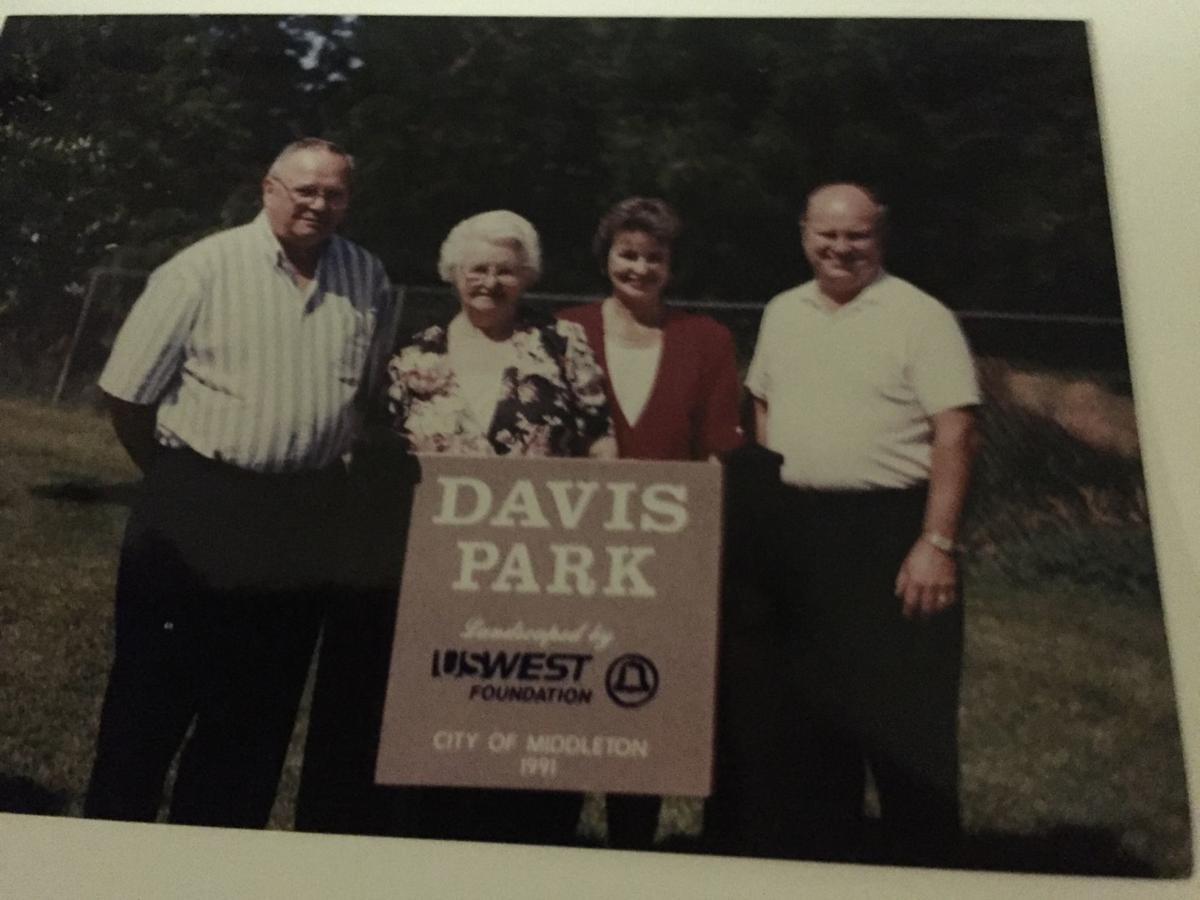 Davis family at Davis Park