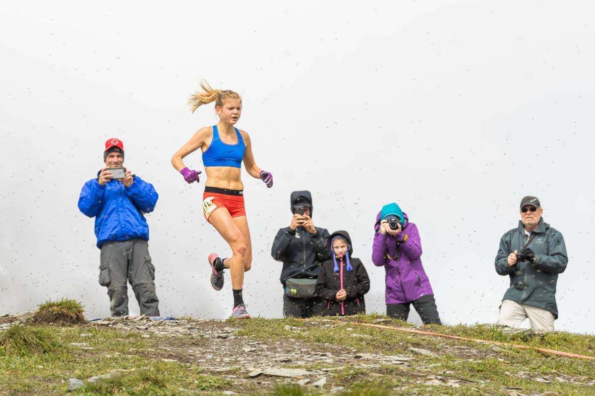 Mount Marathon women's race Allie Ostrander 2
