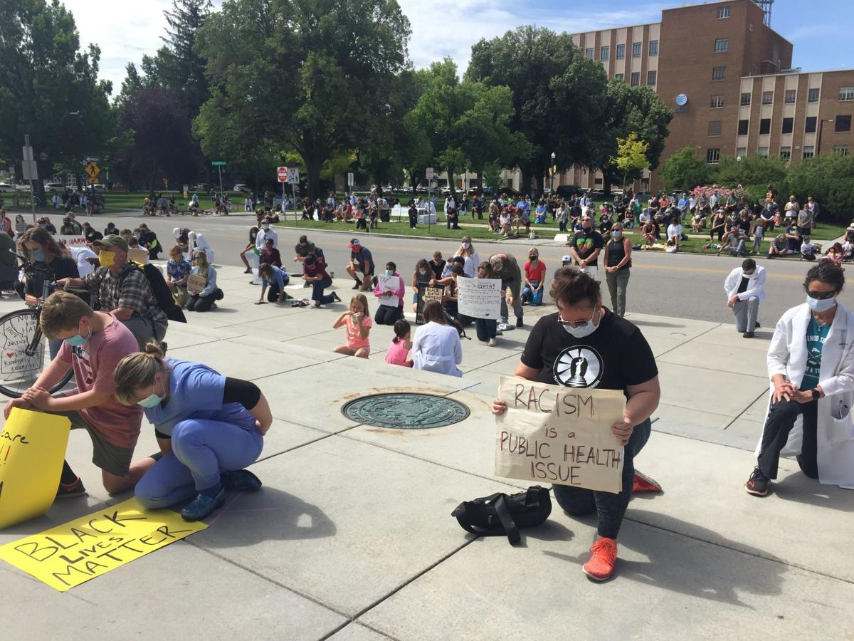 Black Lives Matter/Medicine/Medical Professionals Rally in Boise