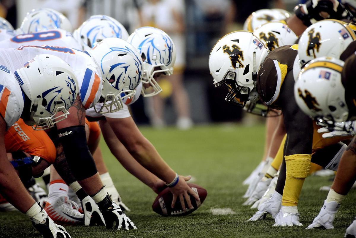 Boise State vs Wyoming Football