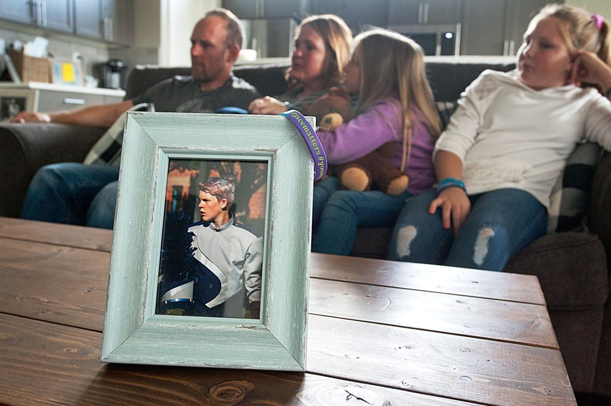 Family who lost son to suicide wants conversation to reach youth