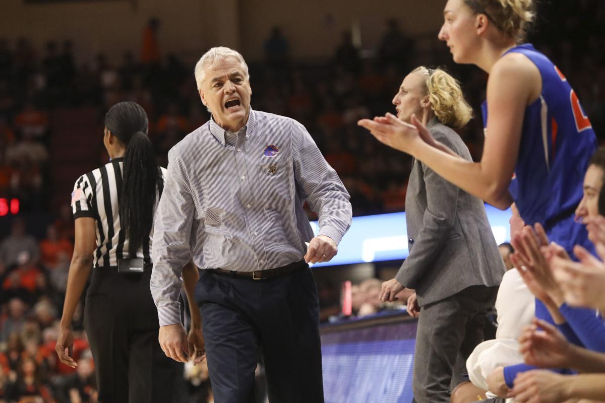 NCAA Boise St Oregon St Basketball