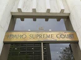 Idaho Supreme Court generic no flowers