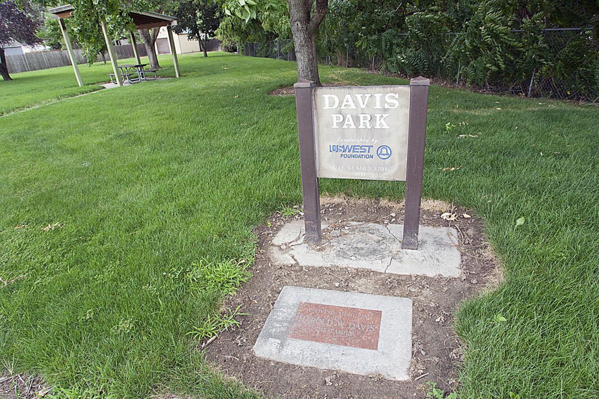 Davis Park in Middleton