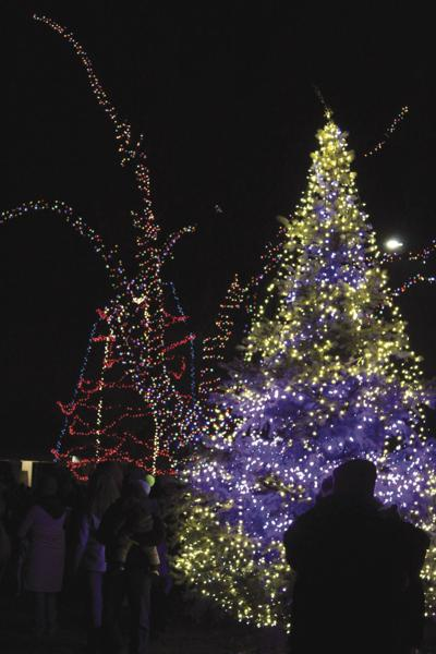 Kuna Down Home Country Christmas tree lighting 2018