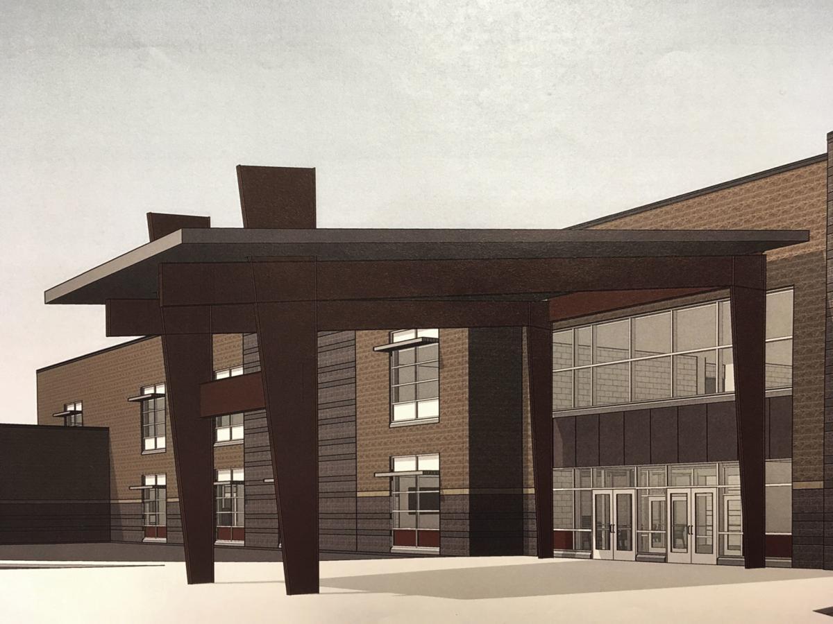 Main entry of CTE high school
