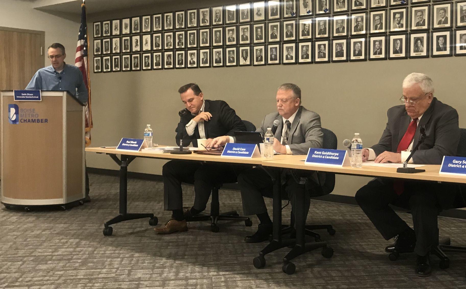 ACHD hopefuls address Boise Metro Chamber for candidate forum | Idaho Press