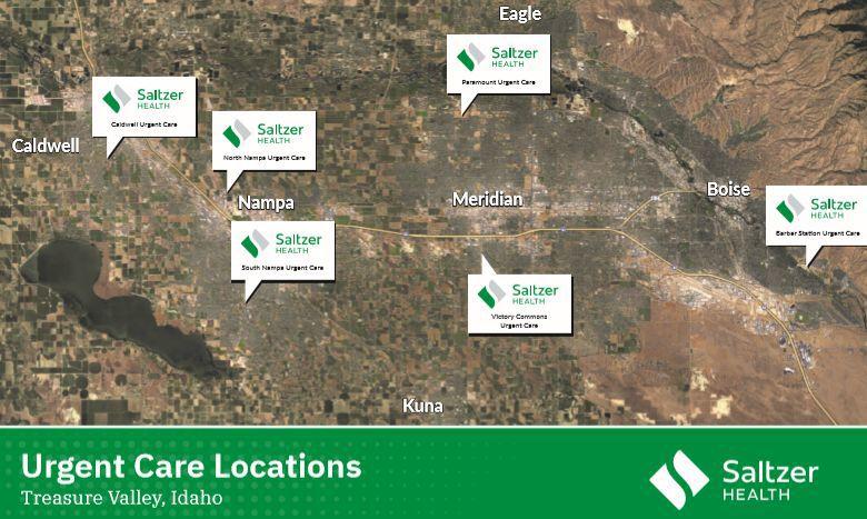 Saltzer urgent care locations