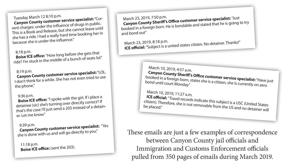 I've just booked a foreign born': Emails show extent of