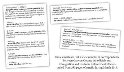 ICE emails