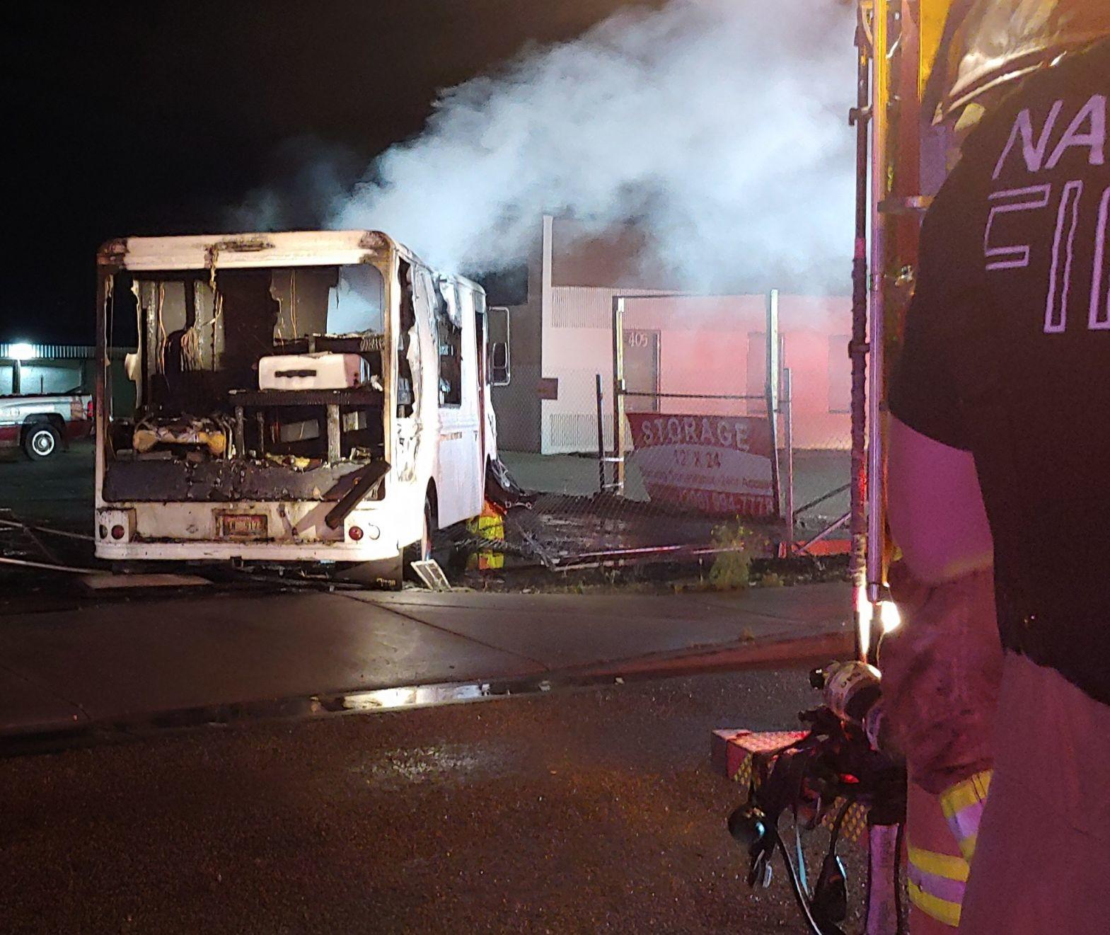 Idaho food truck destroyed in explosion Friday, owner injured