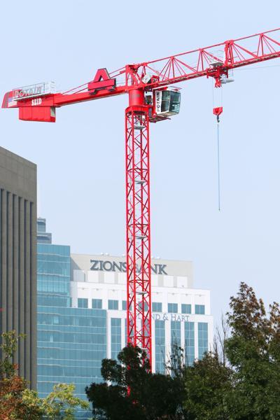 Downtown Boise construction