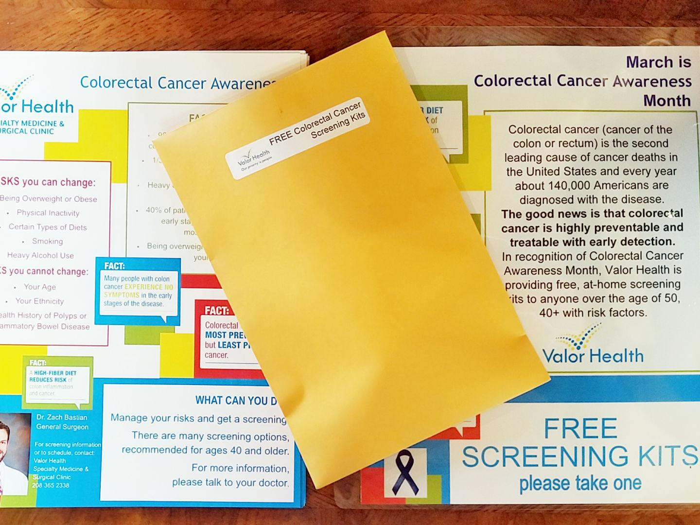 Taking Preventative Action On Colorectal Cancer Local News Idahopress Com