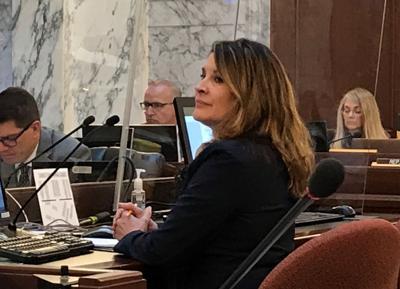 Janice McGeachin at budget hearing