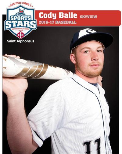 BASEBALL ATHLETE OF THE YEAR: Cody Balle, Skyview