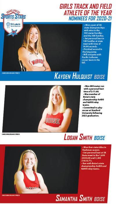 Sports Stars Girls Track and Fiel