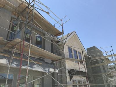 New homes under construction Harris Ranch 7-5-19