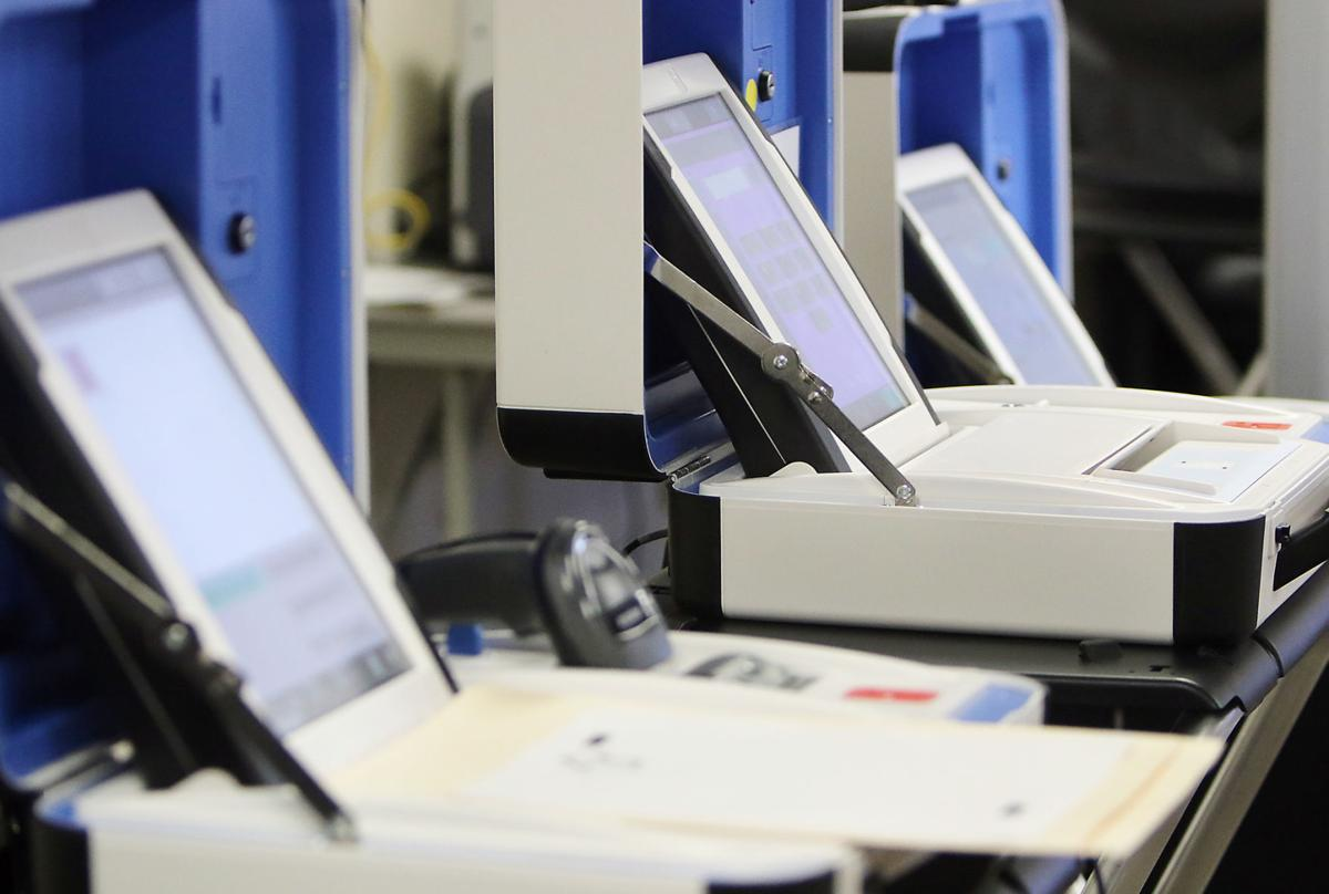 Canyon County Election equipment