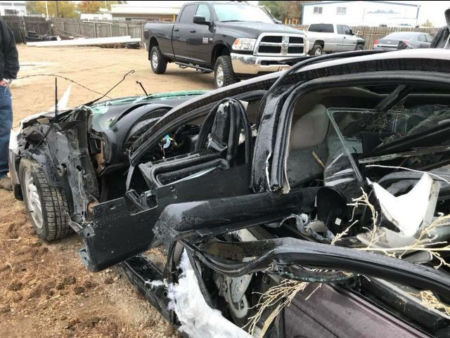 Maddie Teague Credits Her Seat Belt For Helping Save Life In A Single Vehicle Rollover Crash On Interstate 84 East Of Caldwell Oct 11 2017