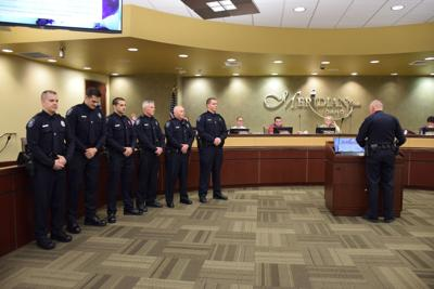 Meridian Police Officers