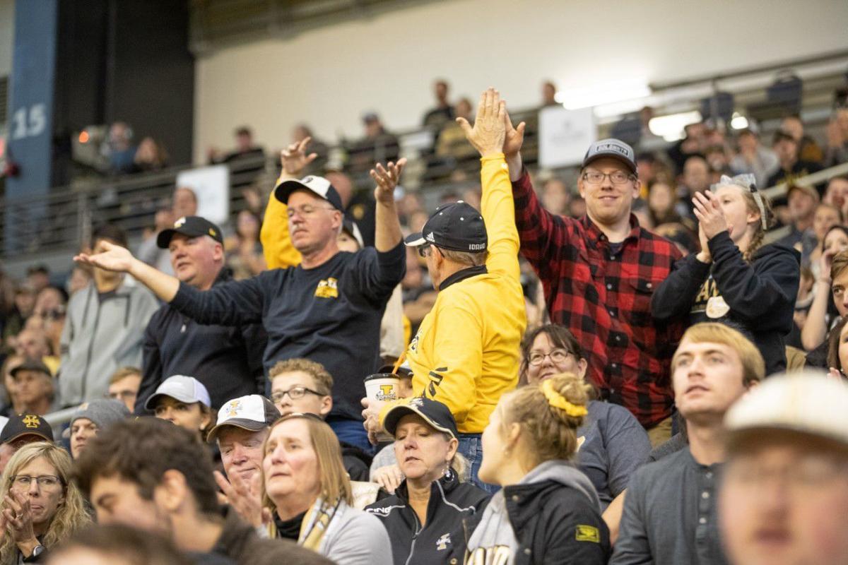 Idaho fans vs. ISU