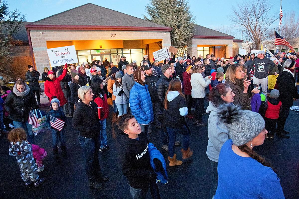 Central District Health protest