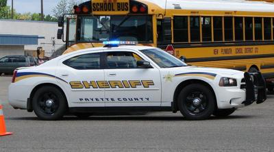 Payette County sheriff's car
