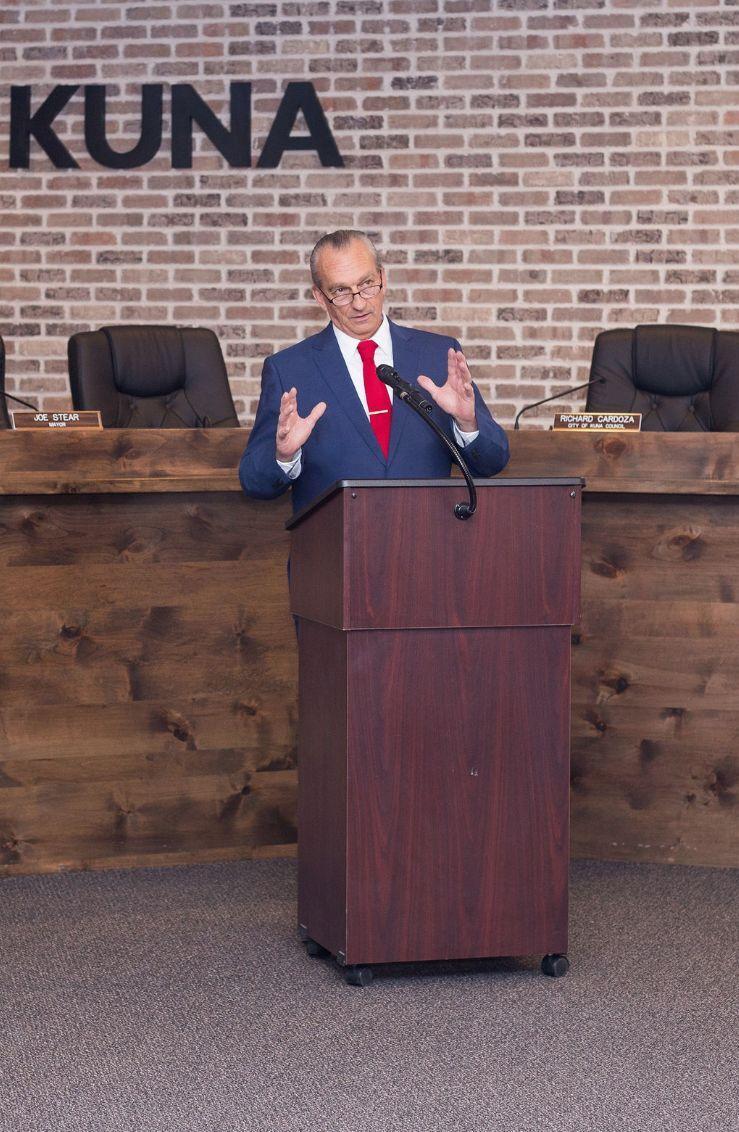 Mayor Joe Stear