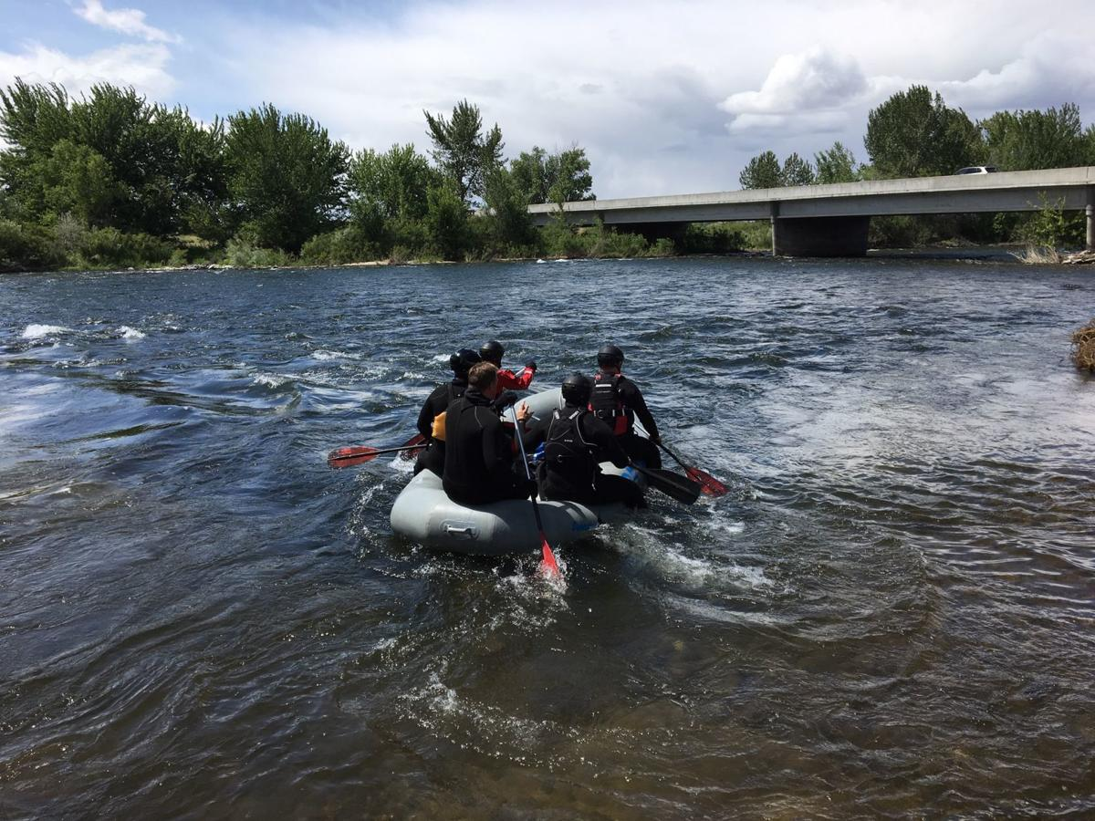 Boise River search 2
