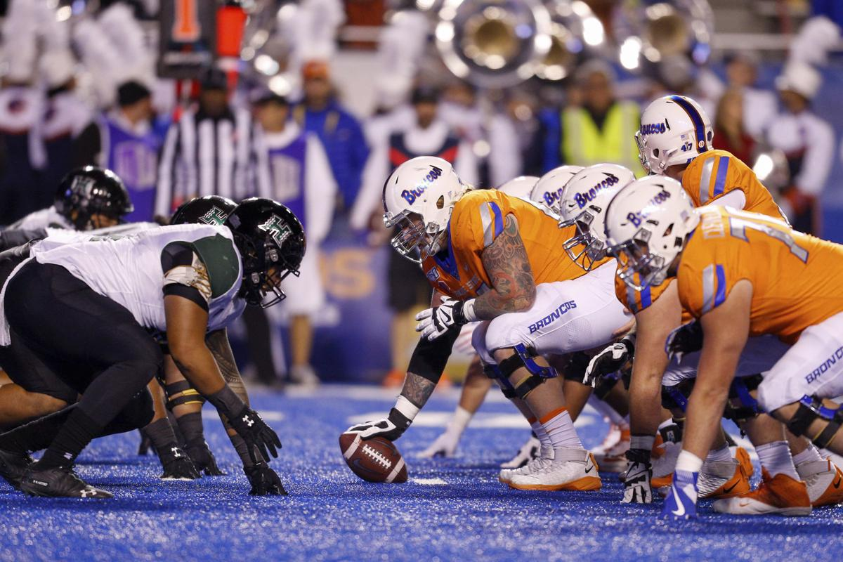 Hawaii Boise St Football