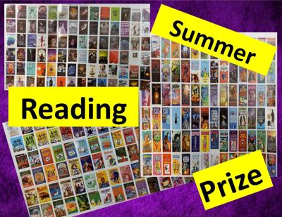 Summer Reading Books and Prizes