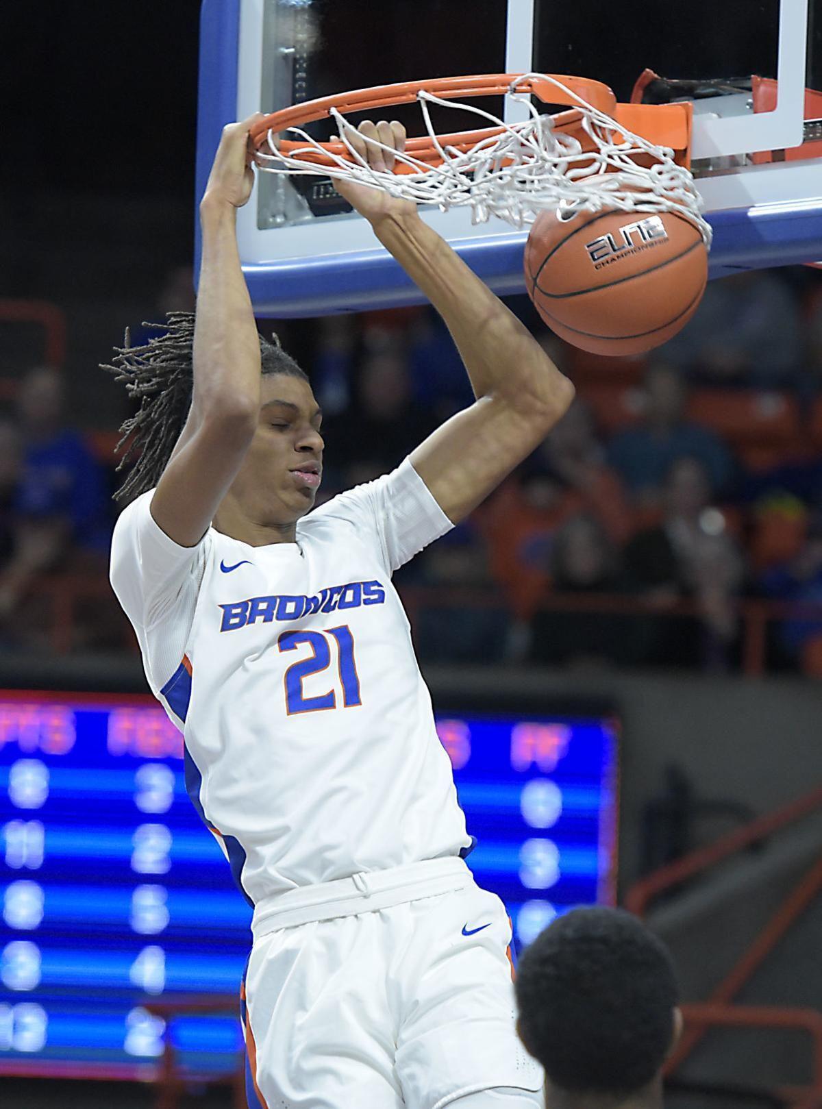 Boise State's Derrick Alston Jr. declares for the draft