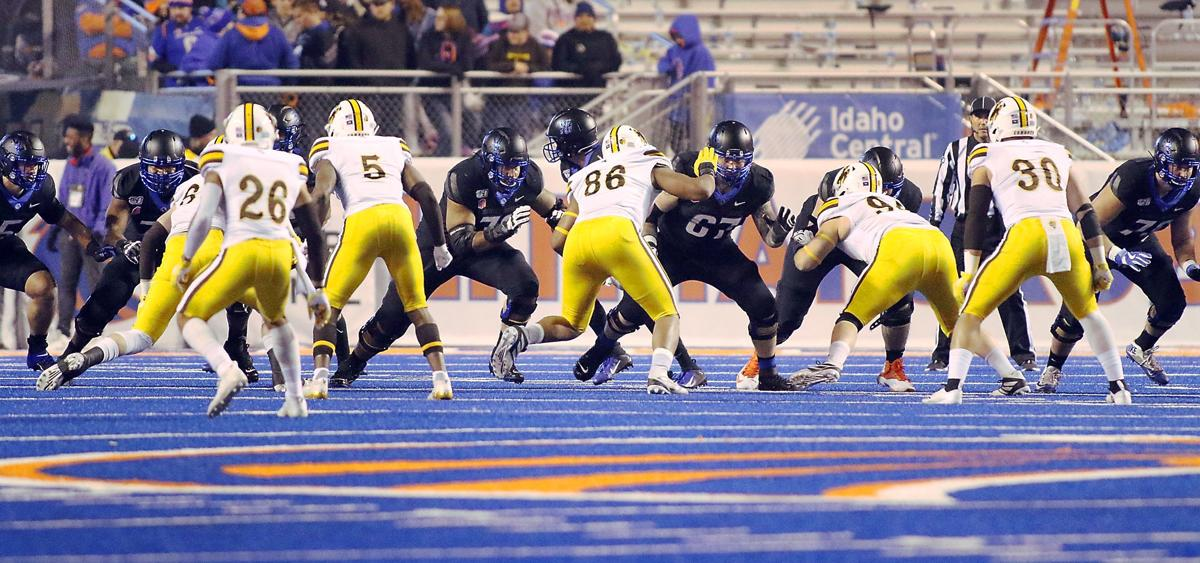 Boise State offensive line