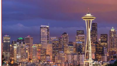 Seattle skyline AP file