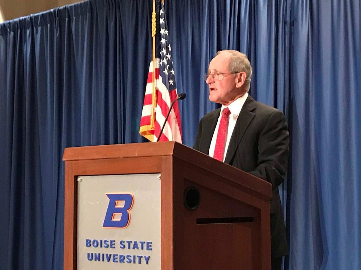 Risch foreign policy speech close