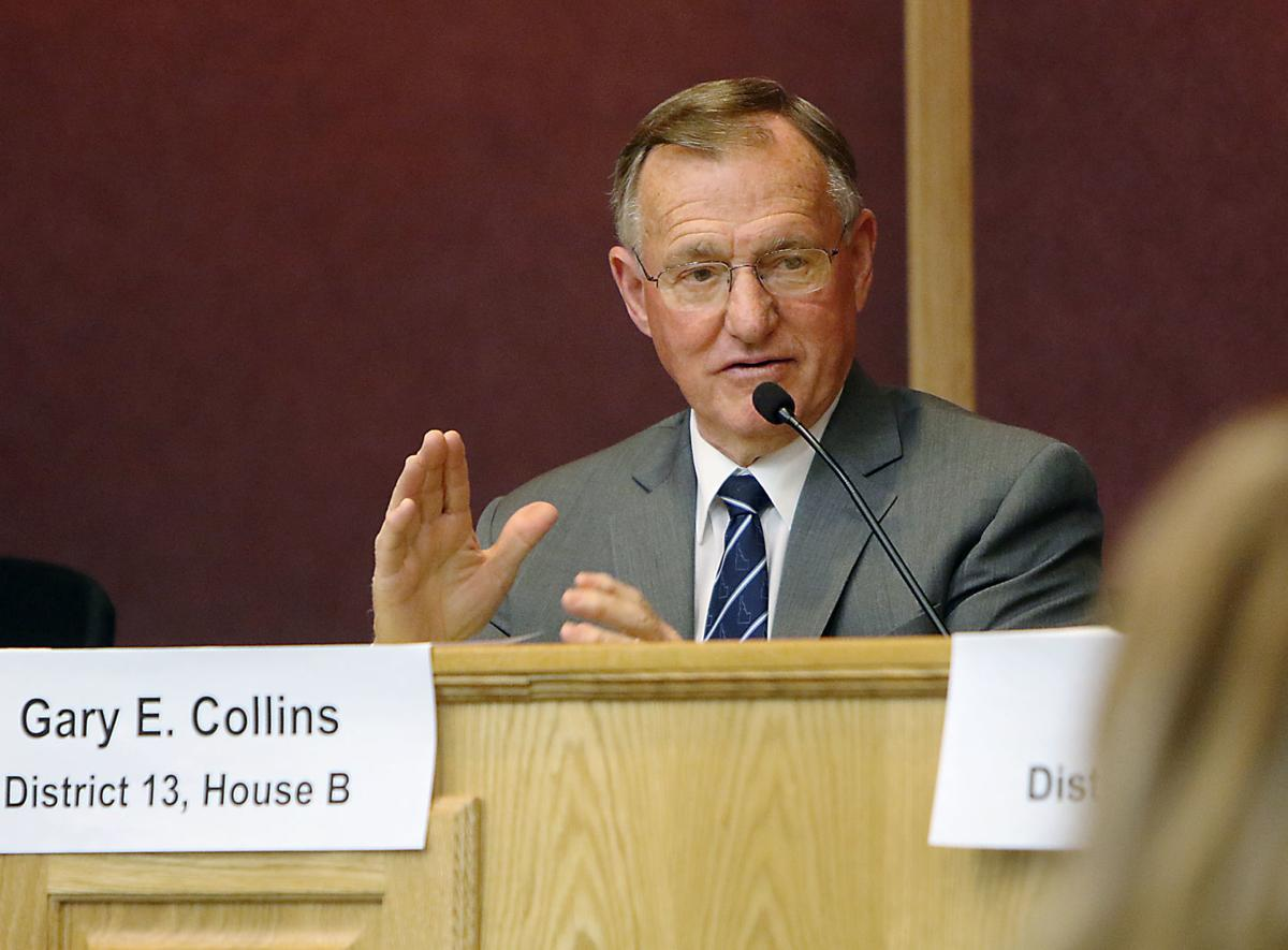 Candidate forums for state legislative districts 12 and 13 (copy) Gary Collins