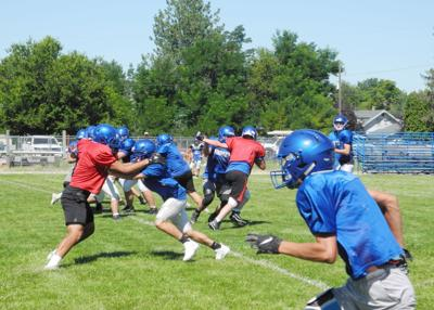 Emmett High football camp