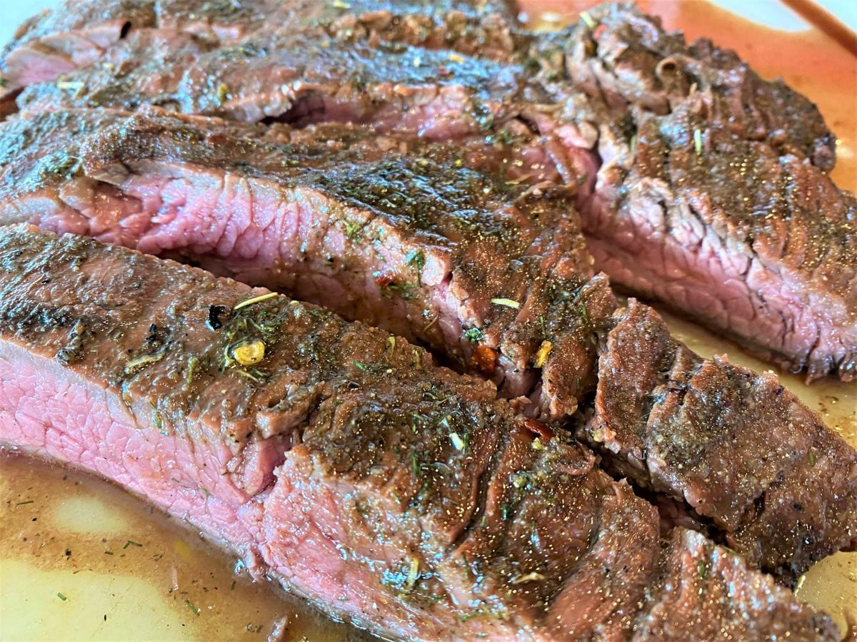 Belle's Marinated Flank Steak