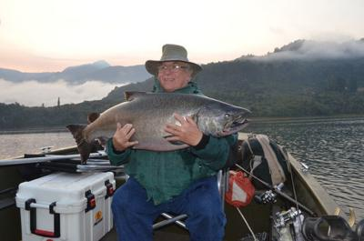 Chilean salmon fishing secondary