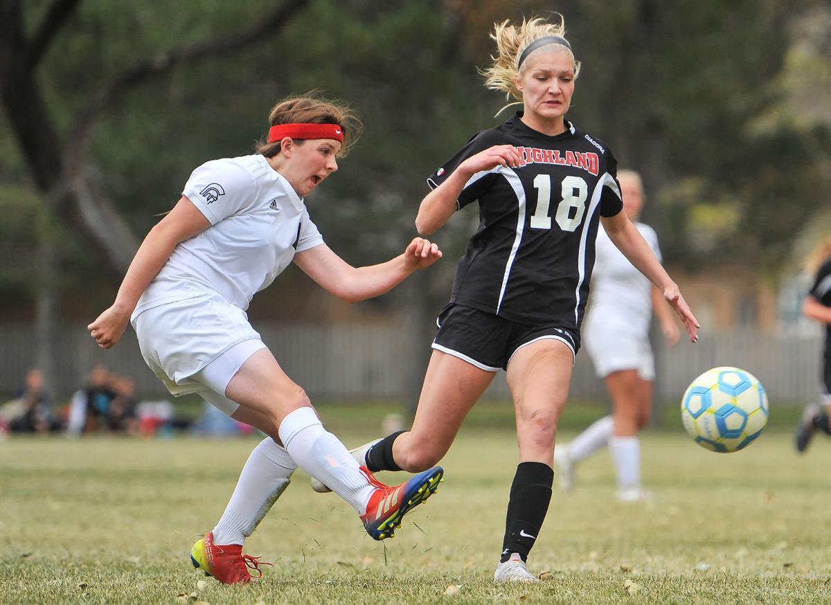Rigby vs Highland girls soccer