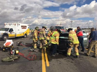 Teenage girl injured in two-vehicle crash on Southeast Idaho