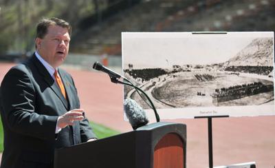 Davis Field renovations